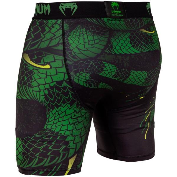 Компрессионные шорты Venum Green Viper Black/Green