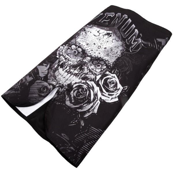 Шорты ММА Venum Santa Muerte 3.0 Black/White