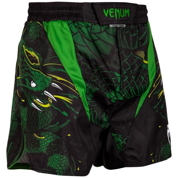Шорты ММА Venum Green Viper Black/Green
