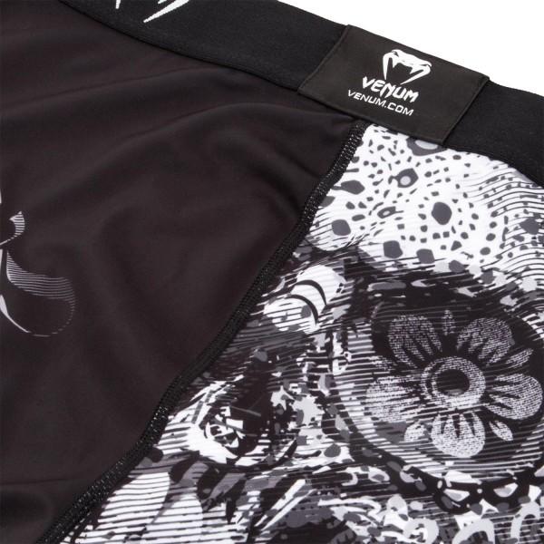 Компрессионные штаны Venum Santa Muerte 3.0 Black/White