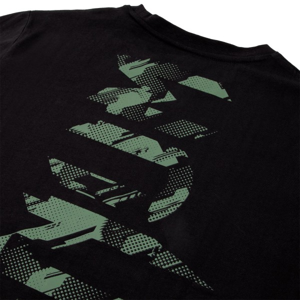 Футболка Venum Tecmo Giant Khaki/Black