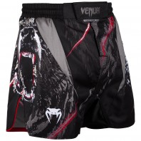 Шорты ММА Venum Grizzli Black/White