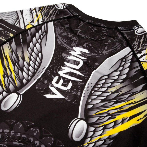 Рашгард Venum Viking 2.0 Black/Yellow L/S