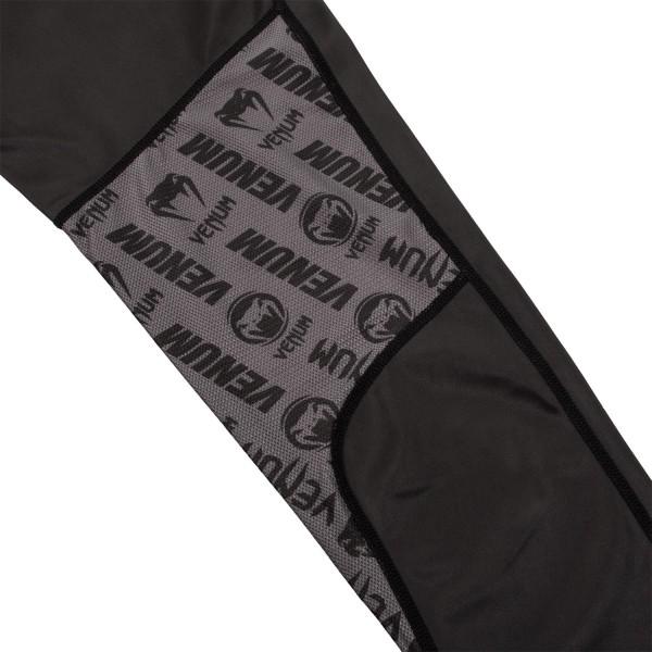 Компрессионные штаны Venum Logos Black/White