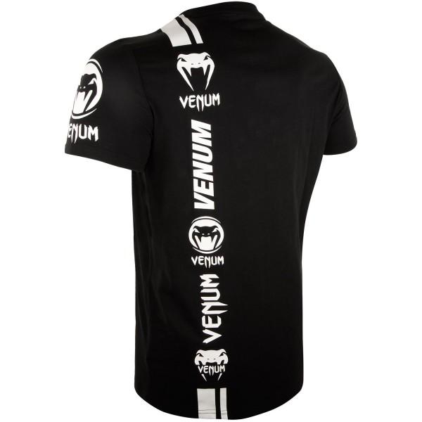Футболка Venum Logos Black/White