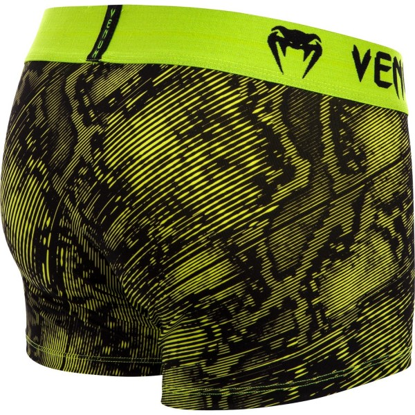 Трусы Venum Fusion Black/Yellow