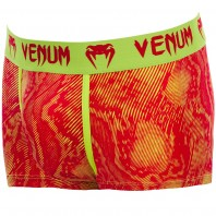 Трусы Venum Fusion Boxer Shorts - Orange Yellow