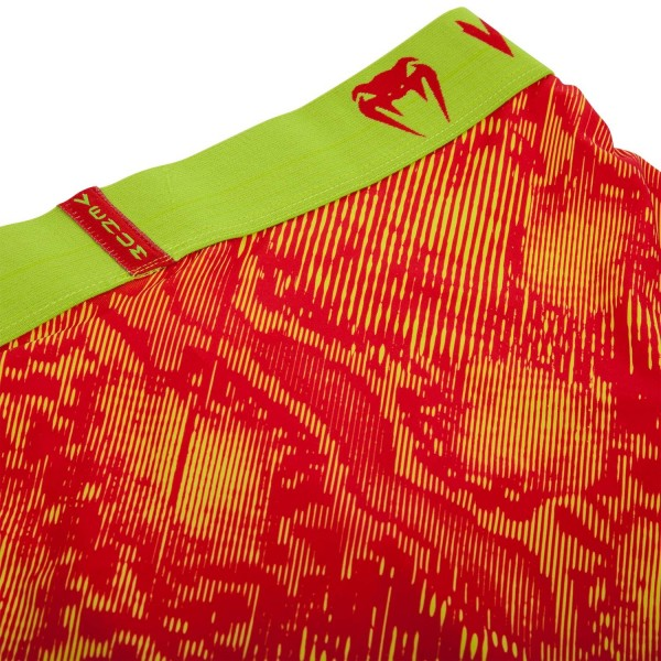 Трусы Venum Fusion Boxer Shorts - Orange Yellow