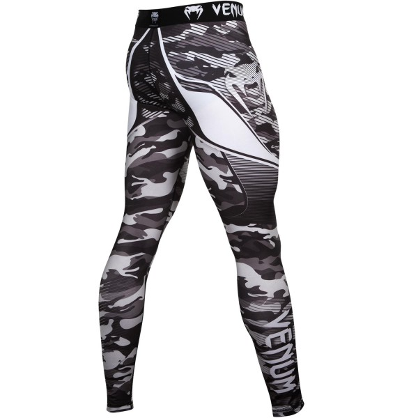 Компрессионные штаны Venum Camo Hero - Grey