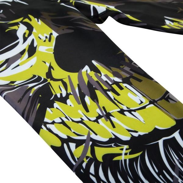 Компрессионные штаны Venum Viking Black