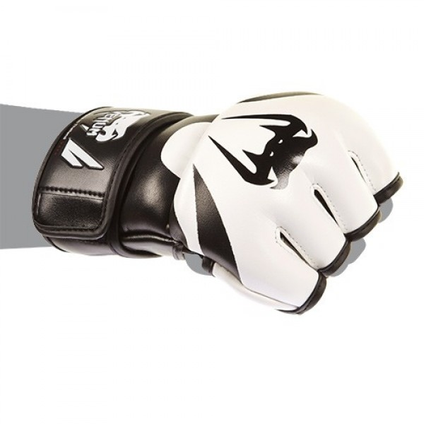 Перчатки ММА Venum Attack Gloves - Skintex leather