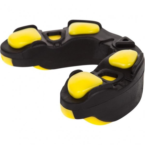Капа боксерская Venum Predator Mouthguard Black/Yellow