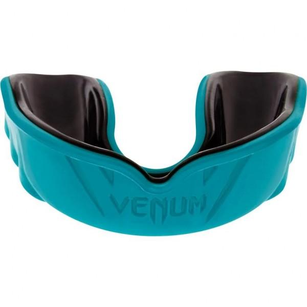 Капа боксерская Venum Challenger Cyan/Black