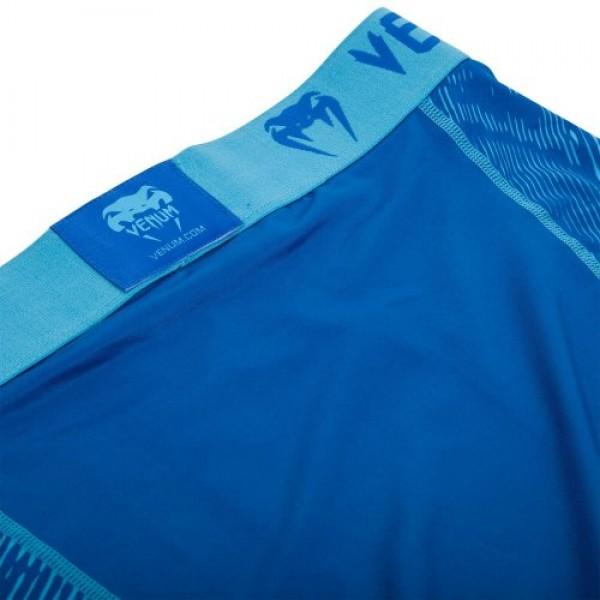 Компрессионные шорты Venum Fusion Compression Shorts - Blue