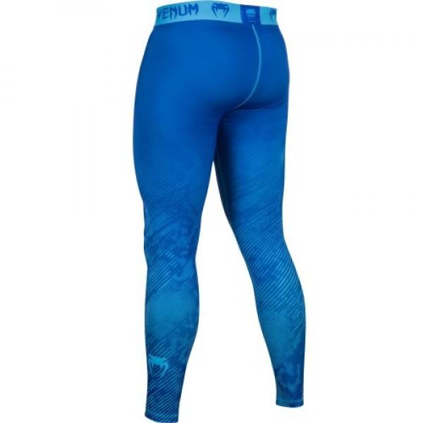 Компрессионные штаны Venum Fusion Compression Spats - Blue