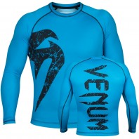 Рашгард Venum Original Giant Blue L/S