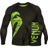 Рашгард Venum Original Giant Black/Yellow L/S