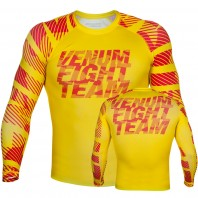 Рашгард Venum Speed Camo Acid Yellow L/S