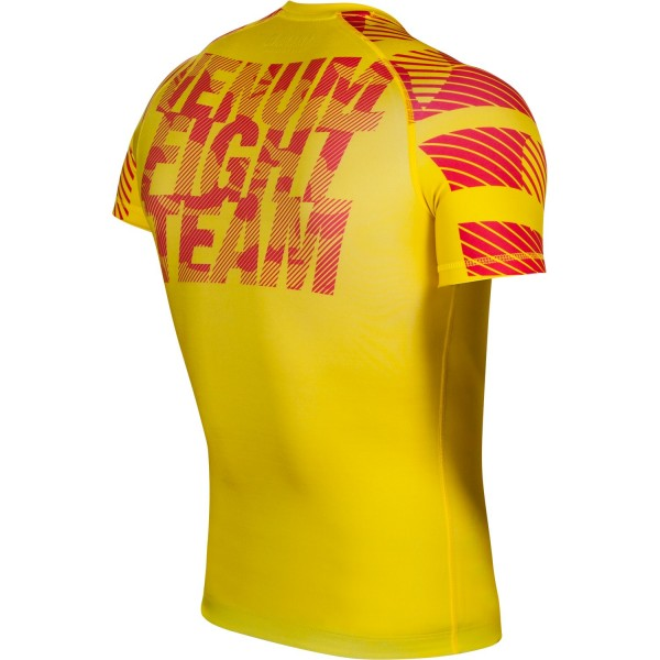 Рашгард Venum Speed Camo Acid Yellow S/S