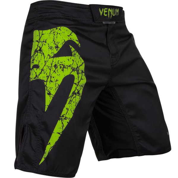 Шорты ММА Venum Original Giant Black/Yellow