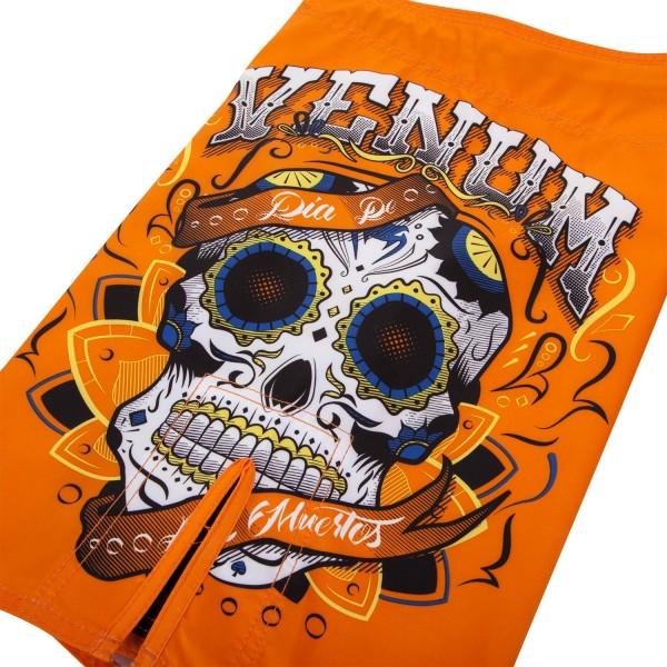 Шорты ММА Venum Santa Muerte 2.0 Orange
