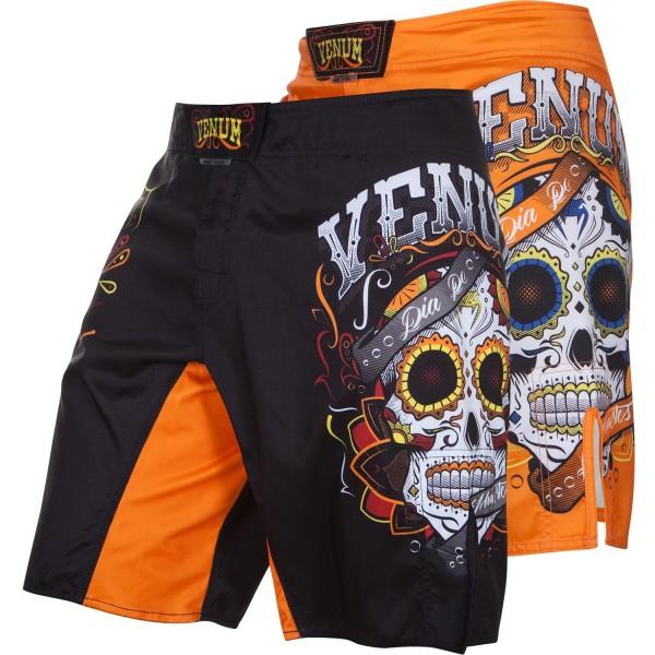 Шорты ММА Venum Santa Muerte 2.0 Black