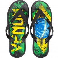 Сланцы Venum Brazilian Flag Sandals Green/Yellow/Blue