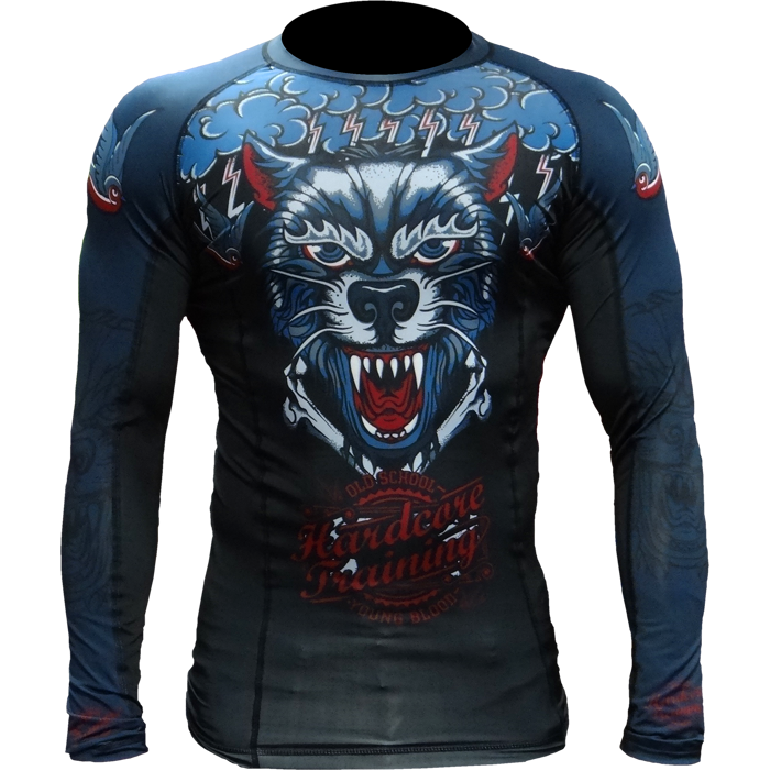 Рашгард Hardcore Training Wolf L/S<br>Вес кг: 250.00000000;