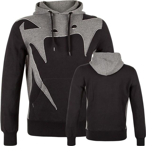 Толстовка Venum Assault Hoody Black/Grey