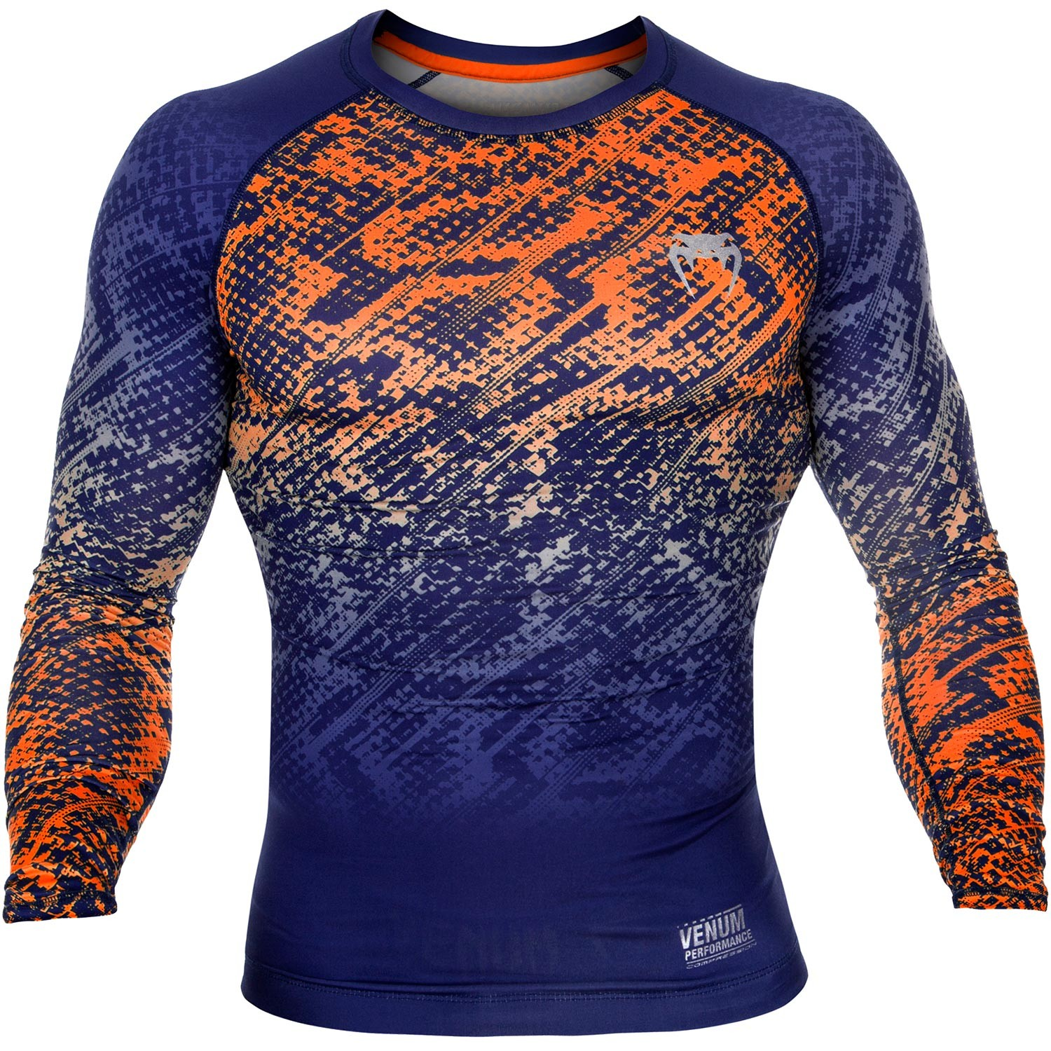 Рашгард Venum Tropical Blue/Orange L/S<br>Вес кг: 200.00000000;