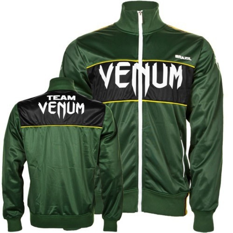 Олимпийка Venum Team Brazil Polyester Jacket Green<br>Вес кг: 900.00000000;