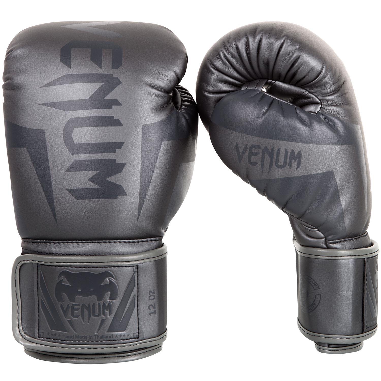 Перчатки боксерские Venum Elite Grey/Grey<br>Вес кг: 900.00000000;