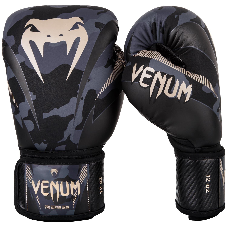 Перчатки боксерские Venum Impact Dark Camo/Sand<br>Вес кг: 900.00000000;
