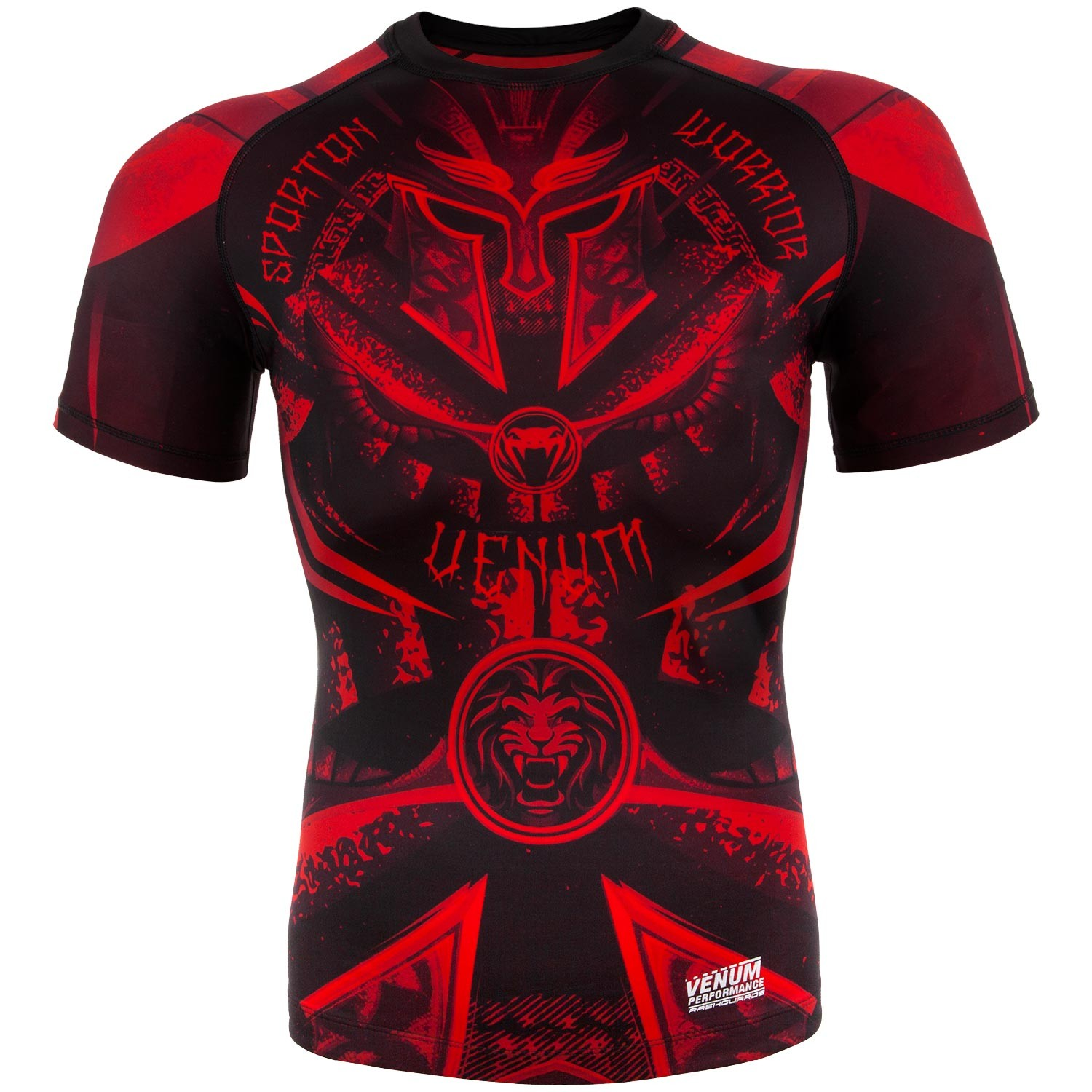 Рашгард Venum Gladiator Black/Red S/S<br>Вес кг: 200.00000000;