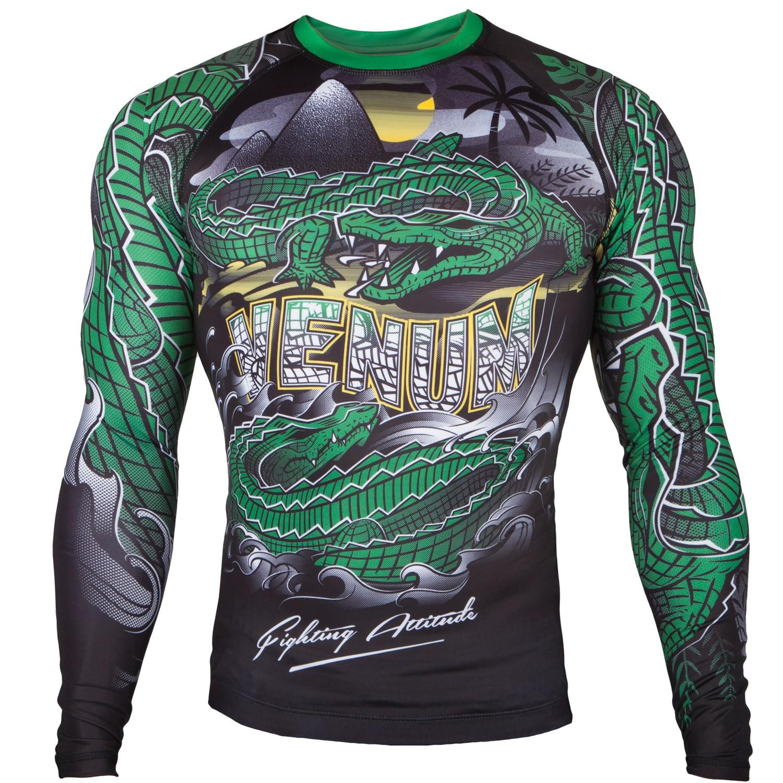 Рашгард Venum Crocodile Black/Green L/S<br>Вес кг: 200.00000000;