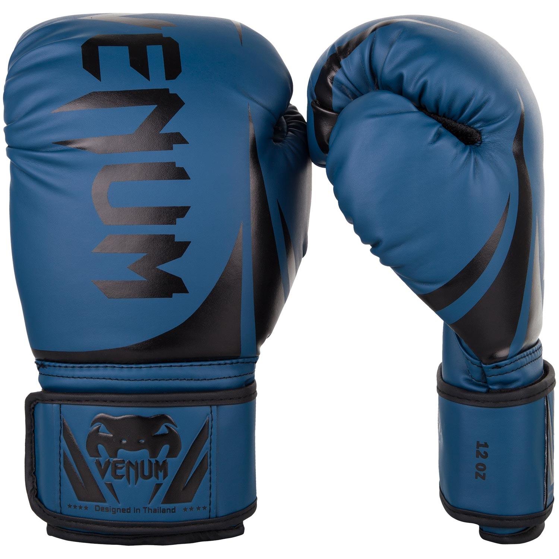 Перчатки боксерские Venum Challenger 2.0 Navy/Black<br>Вес кг: 900.00000000;