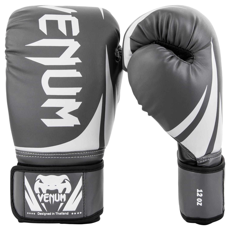 Перчатки боксерские Venum Challenger 2.0 Grey/White<br>Вес кг: 900.00000000;