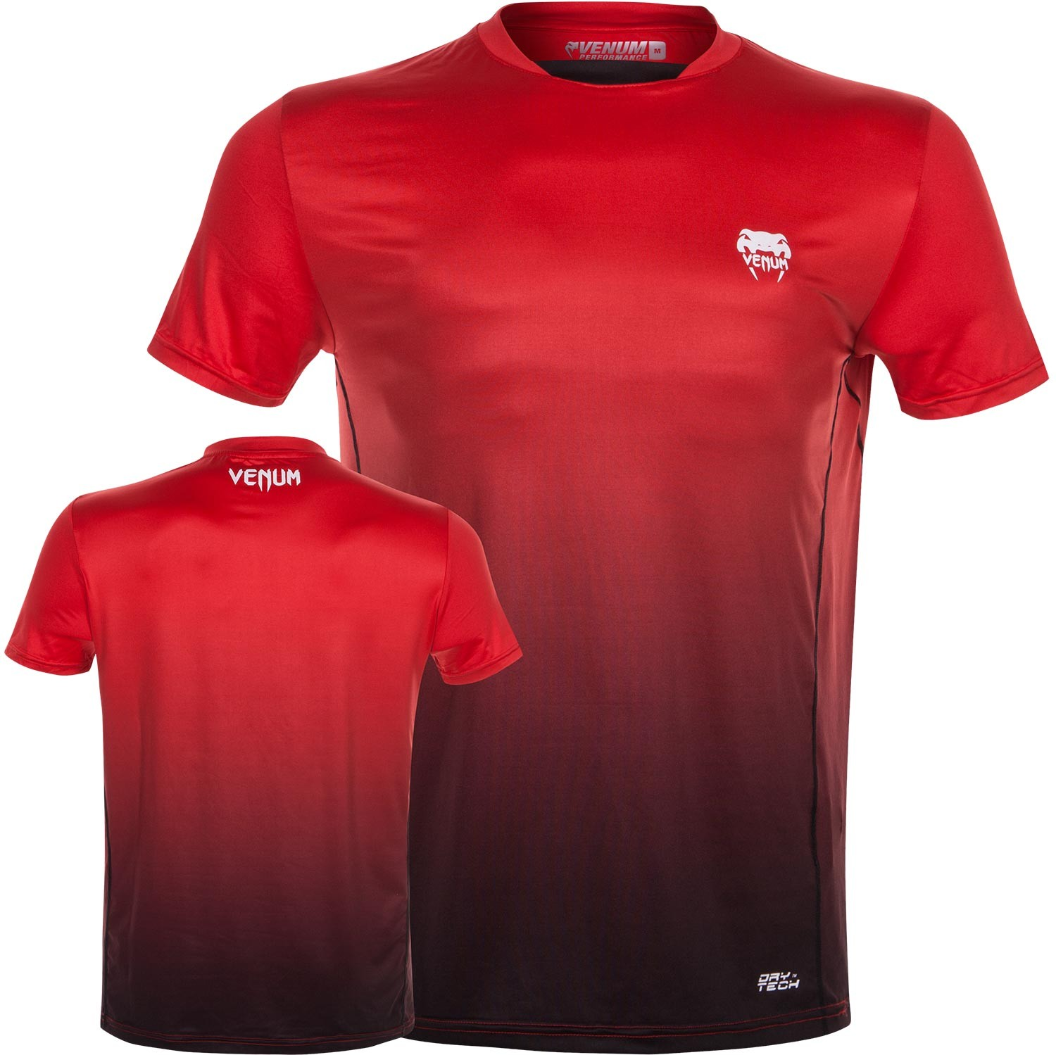 Футболка Venum Contender Dry Tech T-Shirt - Red<br>Вес кг: 200.00000000;