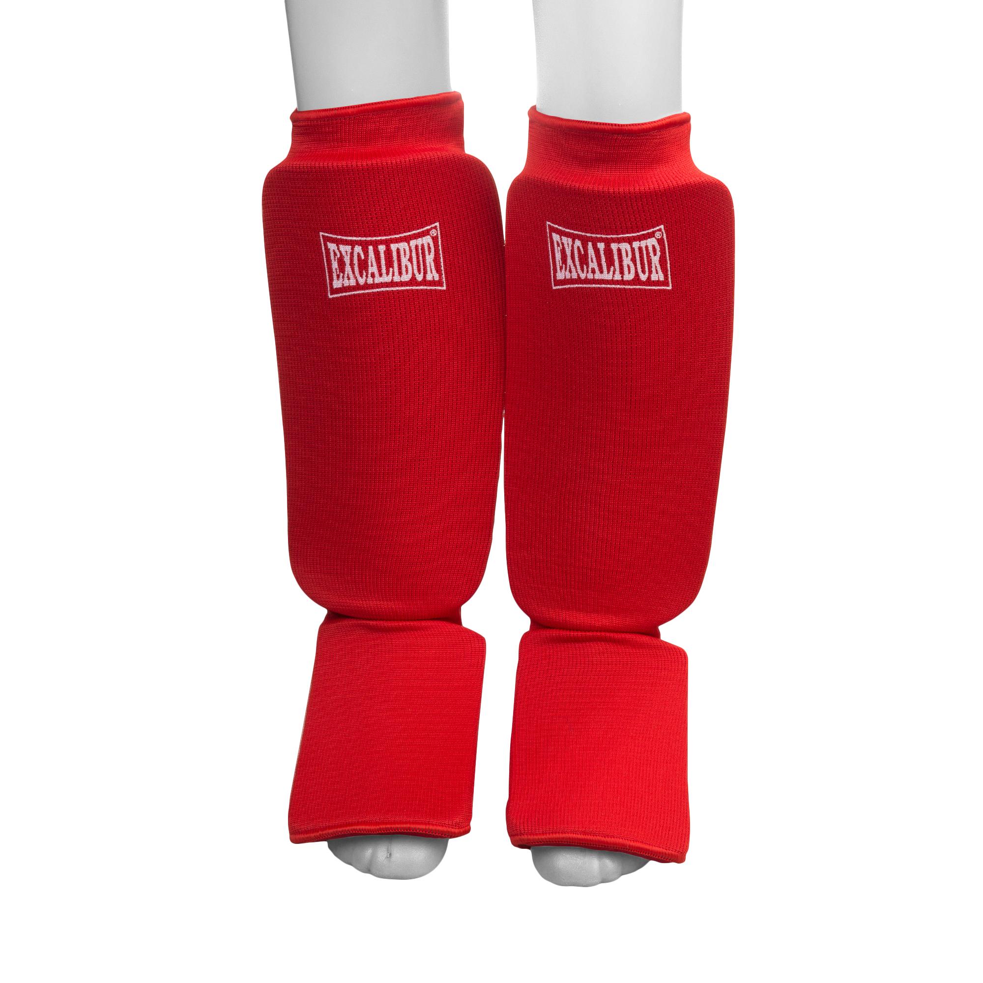 Щитки голень-стопа Excalibur 1104-Red<br>Вес кг: 900.00000000;