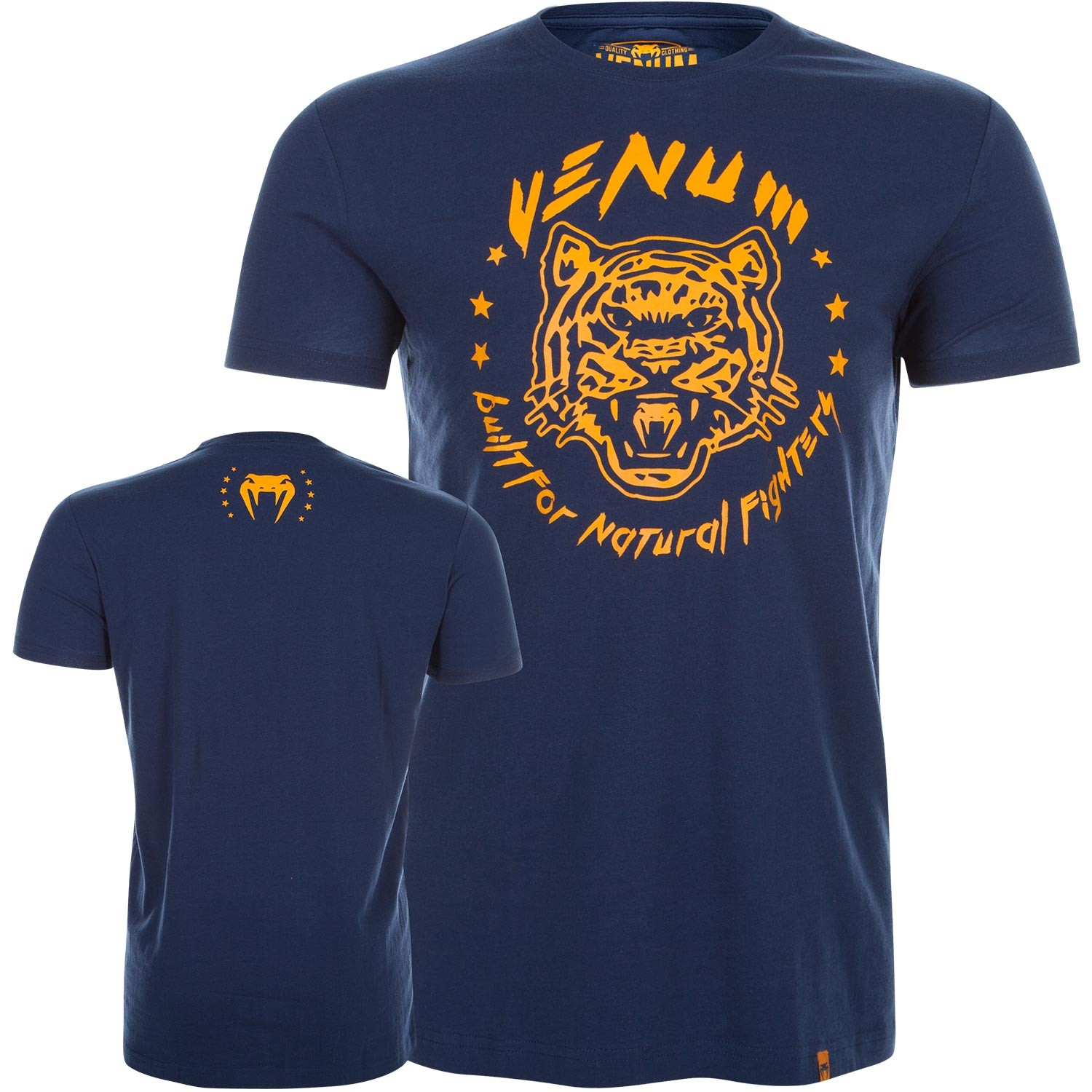 Футболка Venum Natural Fighter Tiger - Blue<br>Вес кг: 200.00000000;