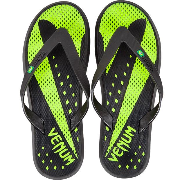 Сланцы Venum Hurricane Sandals Black/Neo Yellow<br>Вес кг: 550.00000000;