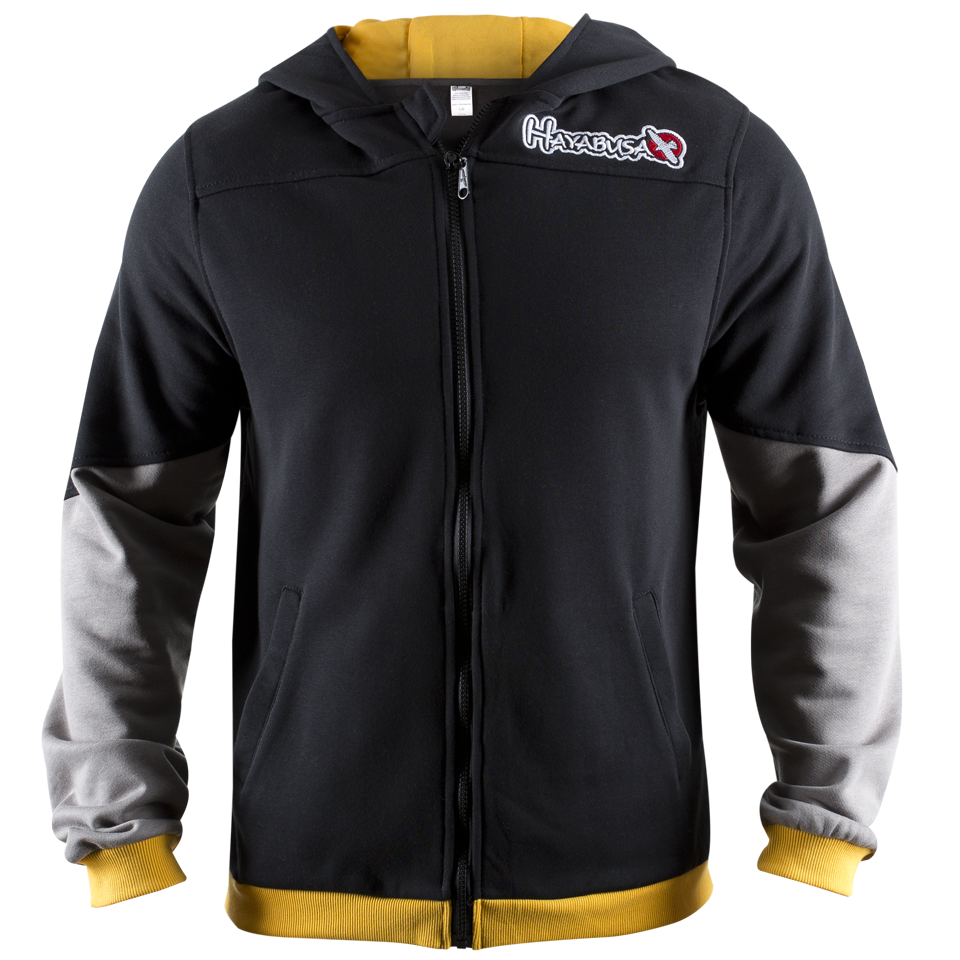 Олимпийка Hayabusa Wingback Hoodie Black/Grey/Yellow<br>Вес кг: 900.00000000;