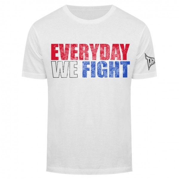 Футболка Tapout Everyday We Fight Mens T-Shirt White<br>Вес кг: 280.00000000;
