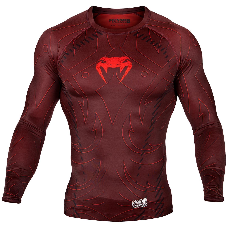 Рашгард Venum Nightcrawler L/S Red<br>Вес кг: 200.00000000;