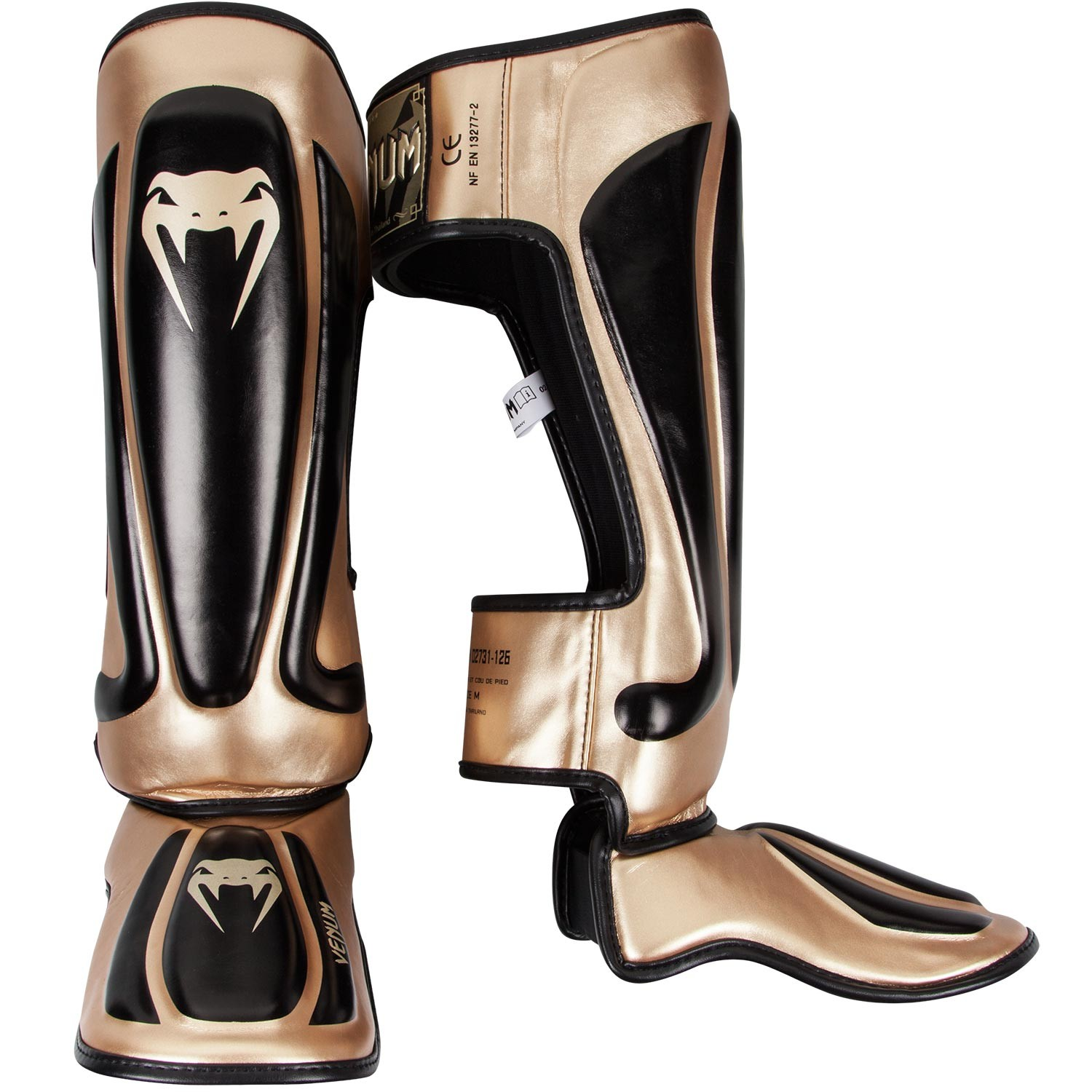 Щитки Venum Predator Black/Gold<br>Вес кг: 600.00000000;