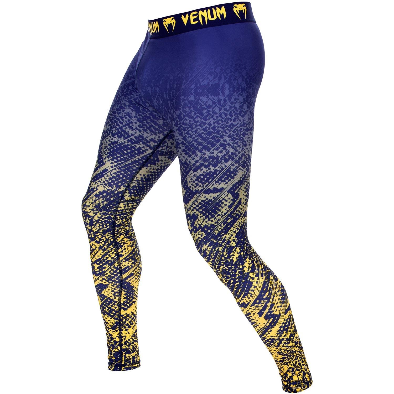 Компрессионные штаны Venum Tropical Blue/Yellow<br>Вес кг: 250.00000000;