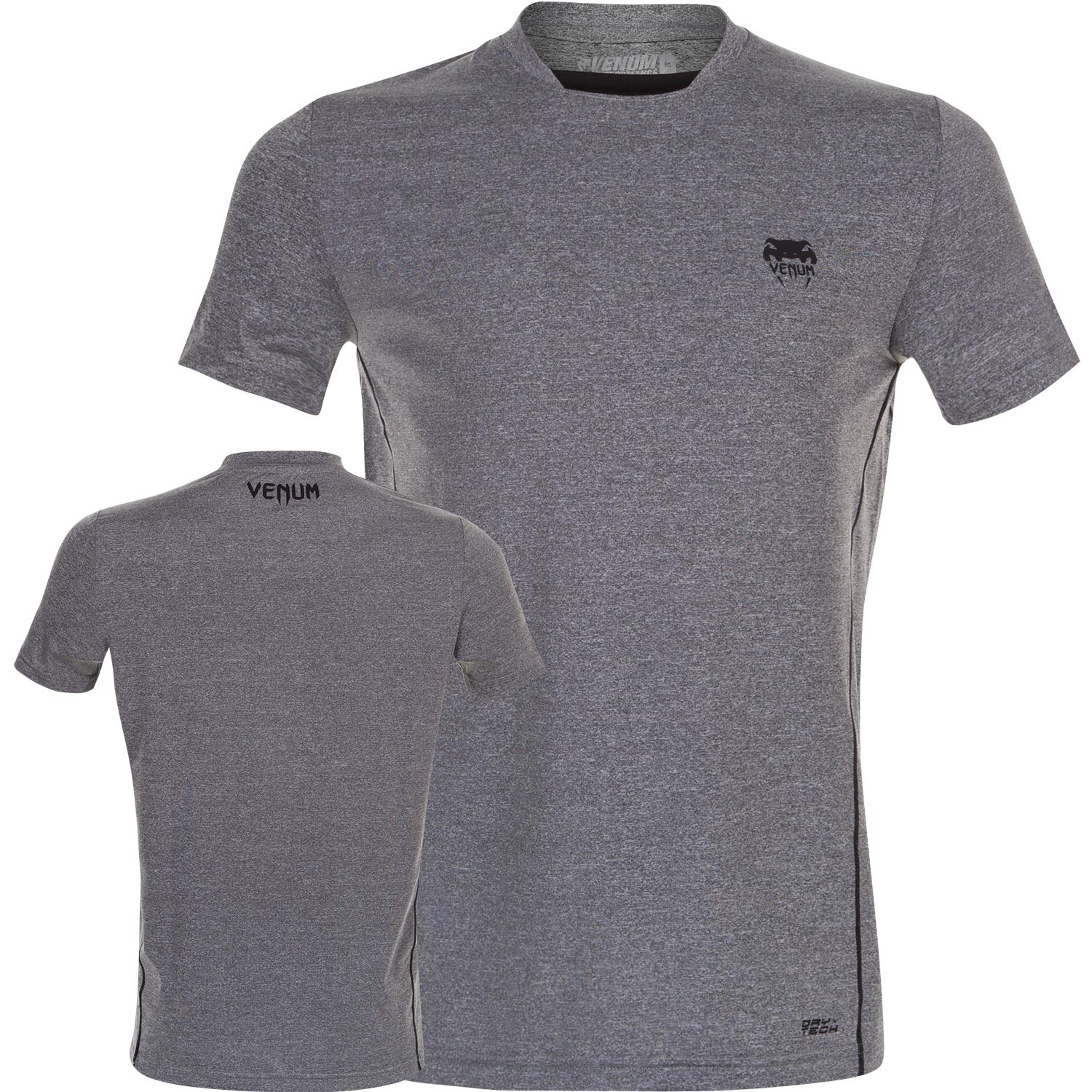 Футболка Venum Contender Dry Tech T-Shirt - Heather Grey<br>Вес кг: 0.00000000;