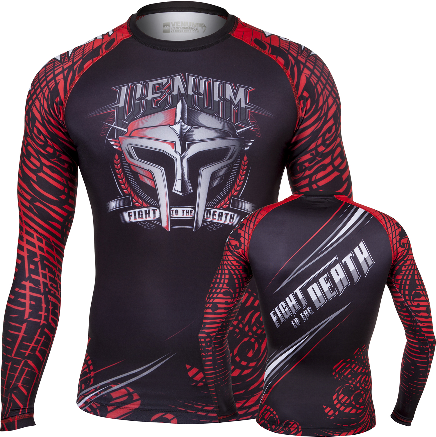 Рашгард Venum Gladiator Black/Red L/S<br>Вес кг: 300.00000000;