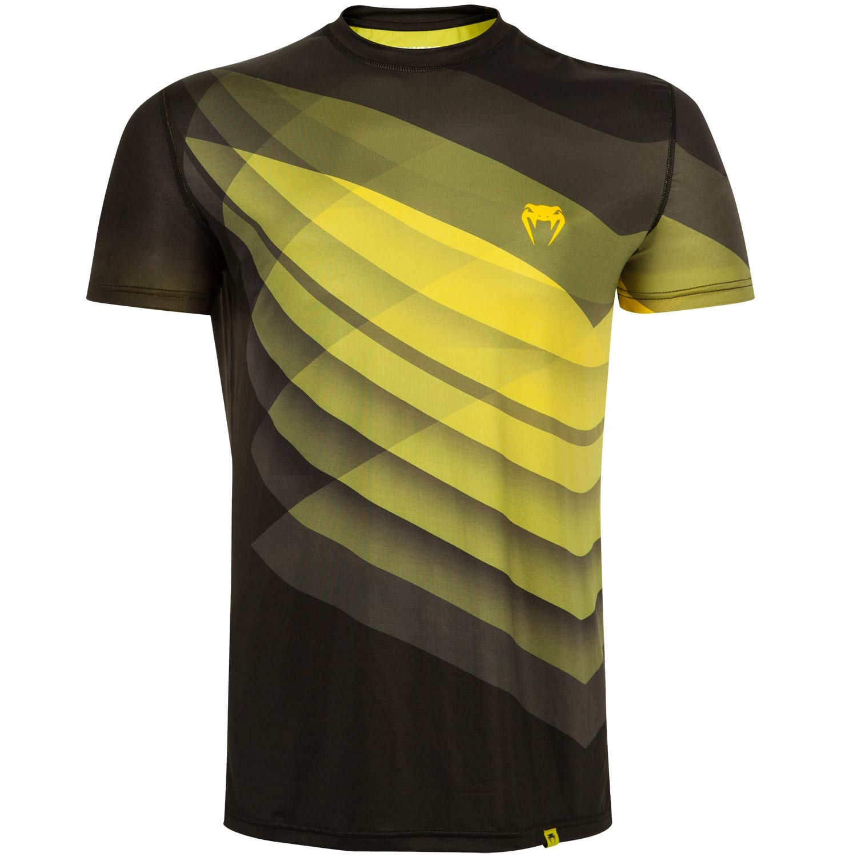 Футболка Venum Dream Dry Tech - Black/Yellow<br>Вес кг: 200.00000000;