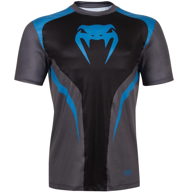 Футболка Venum Predator Dry Tech - Black/Cyan<br>Вес кг: 200.00000000;